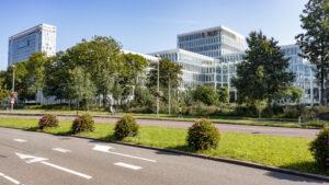 Oase Lease Rijnsweerd Utrecht Hanging baskets, piramides en bollen